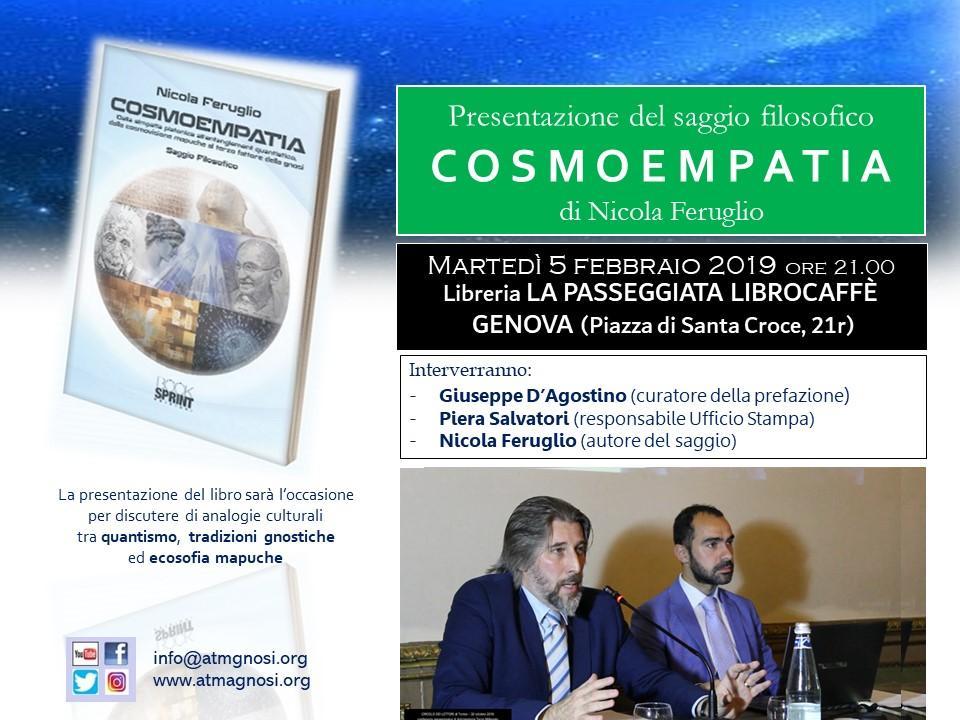 COSMEOPATIA (Saggio filosofico edito dalla BookSprint Edizioni)
