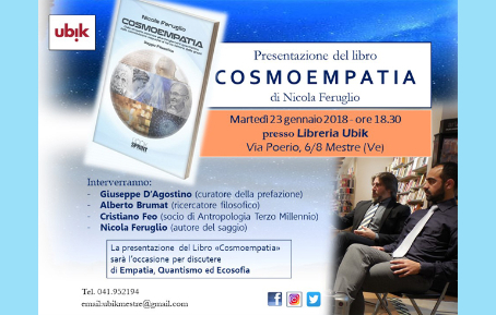 Presentazione del libro COSMOEMPATIA